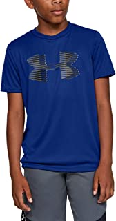 Under Armour Boys' Tech Big Logo Solid Tee Short-Sleeve Shirt