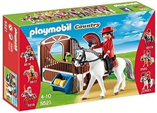 barato y de moda PLAYMOBIL Flamenco Horse with Stall Play Set Set Set by Playmobil - Cranbury  ventas en linea