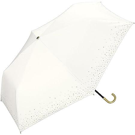 ワールドパーティー(Wpc.) 日傘 折りたたみ傘 UVカット 遮光率99.99%以上 遮熱 はっ水 防水 晴雨兼用 50cm 傘袋付き 遮光リムスター ミニ 801-697 オフ…