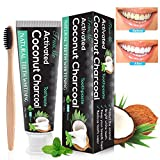 Teeth Whitening Toothpaste, Charcoal Toothpaste, Whitening Toothpaste, Activated Charcoal Toothpaste, Non...