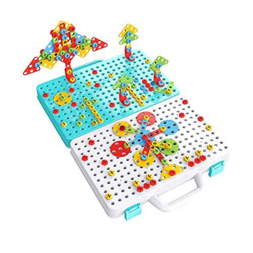 Ranana Drill Screw Toy für Kinder Drill & Screwdriver Tool-Set Lernbausteine Konstruktionsspiele Für...