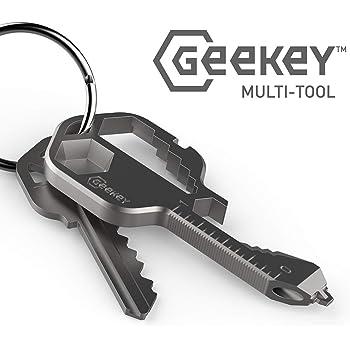 マルチツール Geekey キーサーズに16+以上の機能を搭載した 鍵型 マルチツール 【国内正規品】