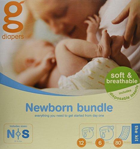gNappies Starterpaket für Neugeborene (2,5 - 5 kg), (sortiert)