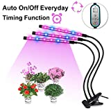 Grow Light, Auto ON & Off Every Day with Two-Way Timer Growing Lamp...