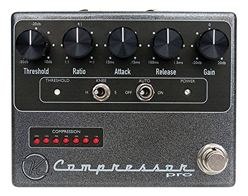 Keeley Compressor Pro -PRIORITY SHIPPING (authorized dealer) Blk