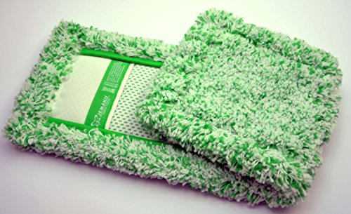 Jemako Bodentuch Bodenfaser grün lange Faser 42cm