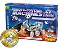 Thames & Kosmos Remote-Control Machines: Space Explorers | Science & Engineering Stem Experiment Kit | Build 10 Real Working Models | Parents' Choice Gold Award Winner by Thames & Kosmos