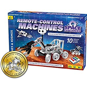 Thames & Kosmos Remote-Control Machines: Space Explorers | Science & Engineering Stem Experiment Kit | Build 10 Real Working Models | Parents' Choice Gold Award Winner - 51hCQc51IDL - Thames & Kosmos Remote-Control Machines: Space Explorers | Science & Engineering Stem Experiment Kit | Build 10 Real…
