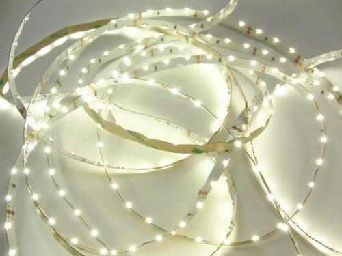 Side view LED Band SMD Streifen flexibel warm weiß 5m 12V DC (16€/m)