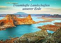 Traumhafte Landschaften unserer Erde (Wandkalender 2022 DIN A2 quer): Traumhafte, faszinierende Landschaften aus verschiedenen Teilen der Welt in magischem Licht zu allen Jahreszeiten. (Monatskalender, 14 Seiten )