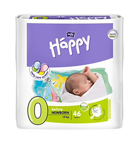 Bella Baby Happy Before Newborn Babywindeln Gr. 0 46 Stück