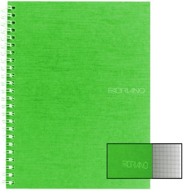 Ecoqua Spiral trust Notebook Lime 5.8X8.25 Free Shipping New