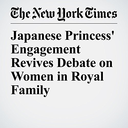 Japanese Princess' Engagement Revives Debate on Women in Royal Family copertina