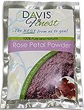 Davis Finest Rose Petal Powder for Face Hair Skin Brightening Hydrating Moisturizing Even Tone...