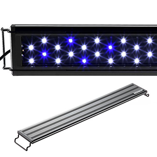 AQUANEAT LED Aquarium Light Blue and White for 24 to 34 Inch Fresh Water Fish Tank Light