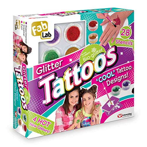 FabLab FL003 Glitter Tattoos, Mixed