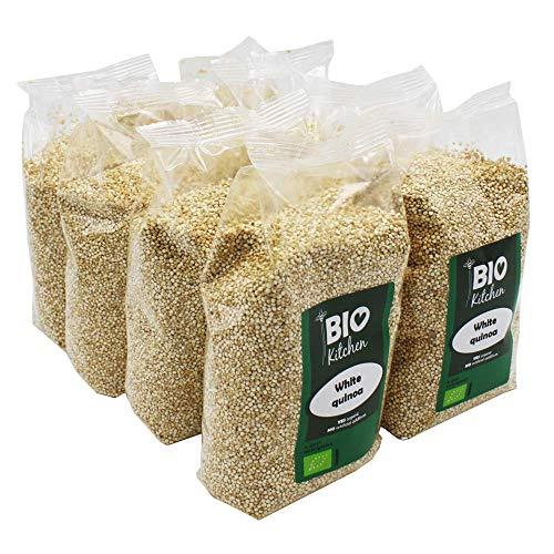BioKitchen - Quinoa bianca biologica, 8 x 400 g
