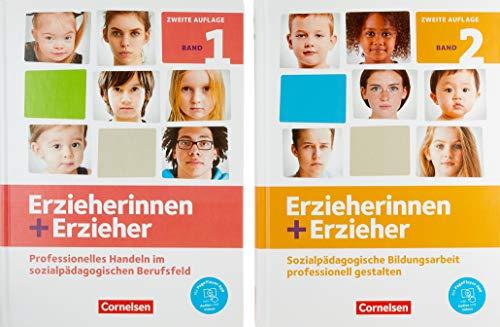 Erzieherinnen + Erzieher - Neubearbeitung: Zu allen Bänden - Fachbücher 451907-7 und 451909-1 im Paket: Mit PagePlayer-App
