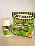 Jet-Asleep Double Strength Nighttime Sleep-Aid 100Count