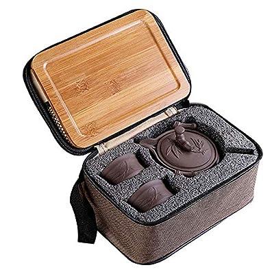 La haute, ensemble de théière, fait en Chine à la main, théière Yixing saine, argile pourpre, beaux cadeaux d'affaires