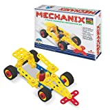 Mechanix Cars-2, Plastic Series, 81 Pieces In The Game, Can Make 7 Different Models, Made In India Game, For 3+ Years of Kids Parts are made from good quality of plastic. Improve your child Imagination, Creativity, Motors Skills, and Hand and Eye Coo...