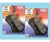 Compatibile Con / Sostituzione Per 800 VFR -ABS-06 /13/ CROSSRUNER-11/17/CB1000R ABS-08/16-PLAQUETTES Freno Anteriore EBC-FA388