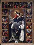 Madonna Of The Rosary With Saints Domenico And Catherine