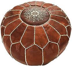 boho stylish moroccan pouf