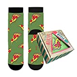 Sockswear Pizza Socken aus Baumwolle in Box   Geschenk Idee für Damen und Herren