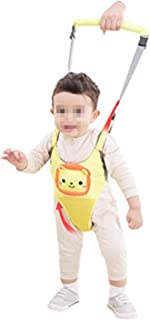 Baby Toddler Belt Infant Learning to Walk Anti-Fall Loss Prevention Seat Belt Four Seasons Vest Learning to Walk Walker Yellow