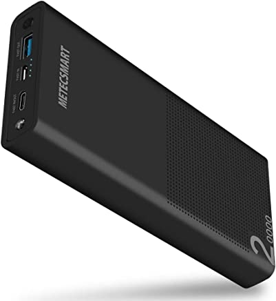 Power Bank 20000mah Portable Charger - Quick Charge 3.0 USB C Fast Charging Type C Backup Mobile External Battery Pack Powerbank Compatible with Nintendo Switch Cell Phone