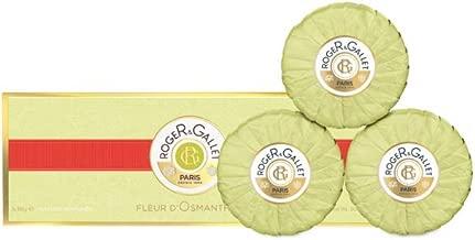 Roger & Gallet Fleur d' Osmanthus Perfumed Soap for Women, 3.5 Ounce