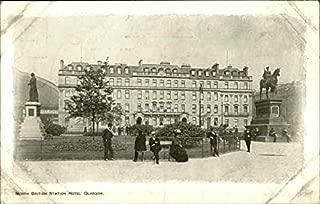 North British Station Hotel Glasgow Glasgow, Scotland Original Vintage Postcard