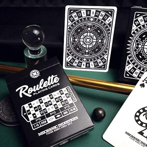 SOLOMAGIA Mazzo di Carte Roulette Playing Cards by Mechanic Industries