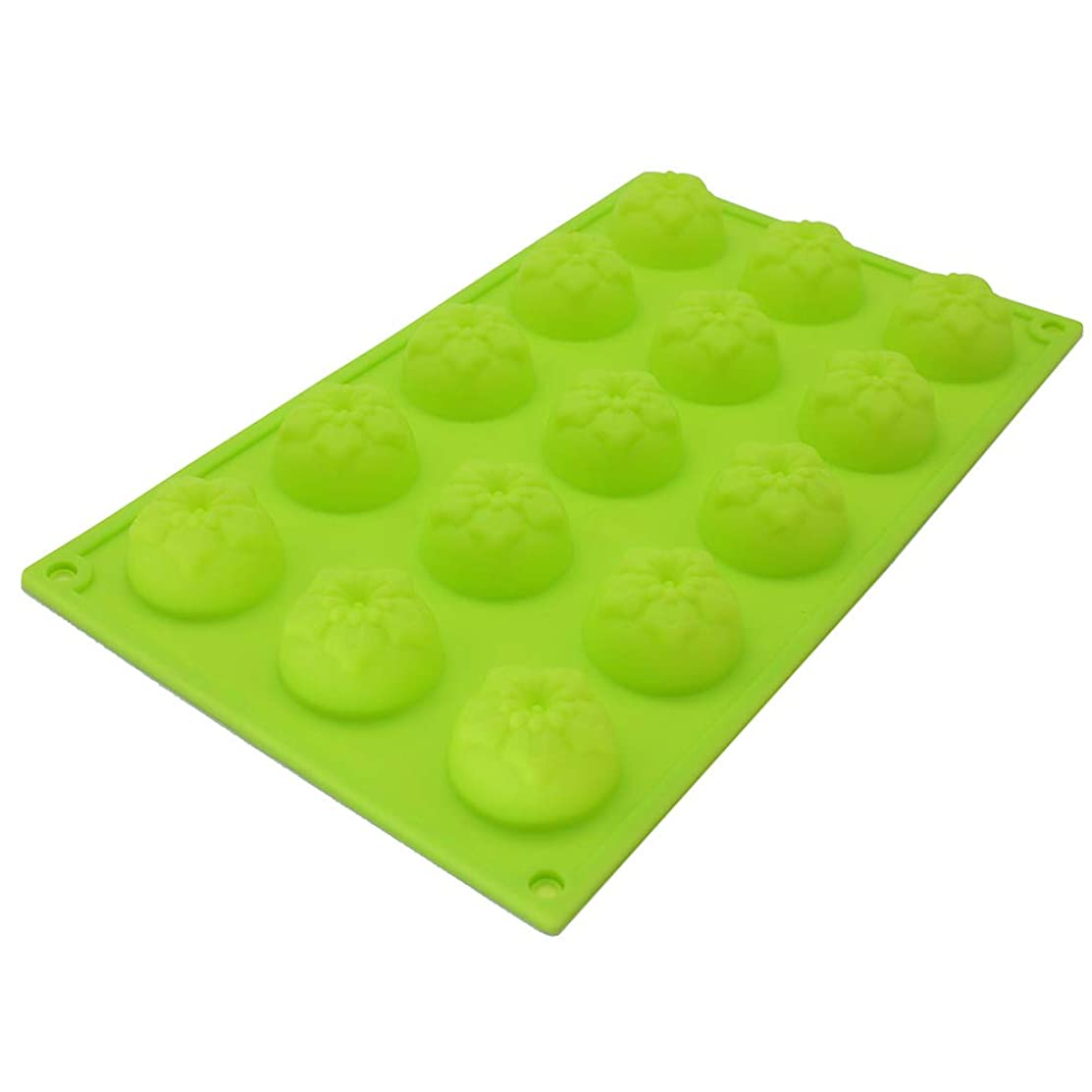 X-Haibei Narcissus Flower Chocolate Jello Silicone Mold Baby Guest Soap Lotion Bar Making