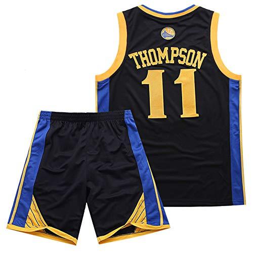 LXIN Juego de bordado de camiseta de baloncesto Warriors 11 Thompson, XL1