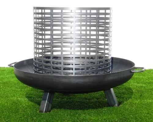 Feuerkorb für Feuerschale - zweiteilig, passend für alle Feuerschalen von STSOL (Ø: 650 mm - 160 mm)