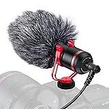 Tendak Kamera Mikrofon Mobiles Mini-Mikrofon Kamera Mini-Mikrofon Camera Microphone Ausgestattet mit Anti-Schock-Halterung Geeignet