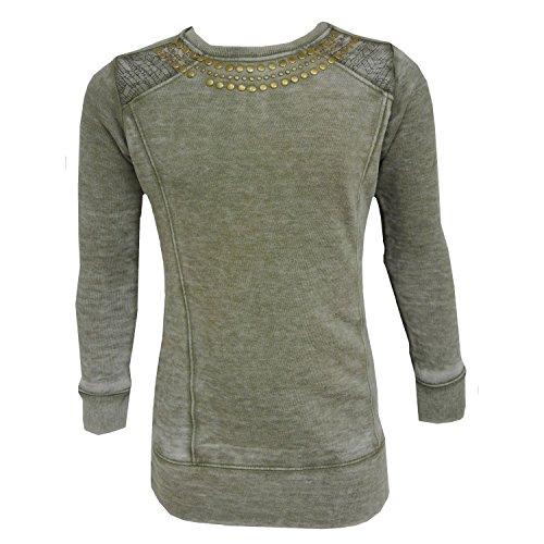 Petrol Industries - Trui Pullover Sweatshirt meisjes, grijs
