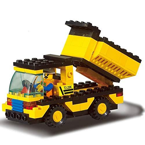 Neue Stadt Baustraße Roller Gabelstapler Traktor Kehrmaschine Bausteine Kinder Spielzeug Kompatibel mit City Bricks Small Size B9500