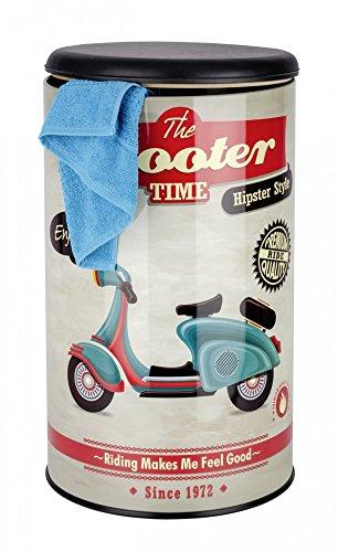 Original Wenko Sitz- und Wäschetruhe Vintage Scooter Roller