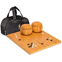 Go Game Set with Bamboo 0.8 Inch
