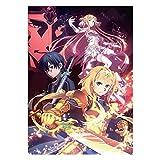lunanana Sword Art Online Poster - Anime SAO