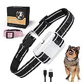 Spray Bark Collar, Anti Dog Bark Device with Auto-Barking Detection, Citronella Dog Training Collar No Shock with Adjustable Sensitivity for Small Medium Large Dogs