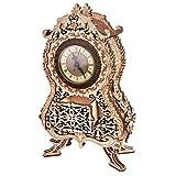 Wood Trick ウッドトリック ヴィンテージクロック/時計 置時計になる3Dウッドパズル 木製模型