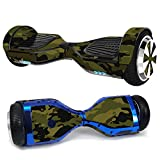 MightySkins Skin Compatible with Hover-1 H1 Hoverboard Scooter - Green Camouflage   Protective, Durable, and Unique Vinyl Decal wrap...