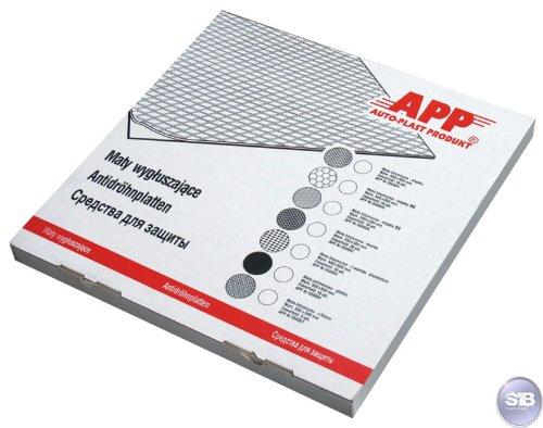 APP Selbstklebende Antidröhnplatte weich 500x500mm