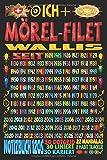 Ich + Mörel-Filet Wallis seit: Notizbuch | 120 Seiten, DIN A5 (6x9 Zoll) | Je 30 Seiten Liniert + Kariert + Dotgrid + 22 Mandalas Malseiten + 8 Seiten ... | Ideen | Todos | Skizzen | Tagebuch |