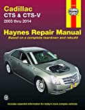Cadillac Cts & Cts-V 2003 Thru 2014 (Haynes Manual)