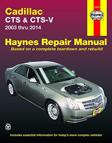 Cadillac Cts & Cts-V 2003-2014 Repair Manual